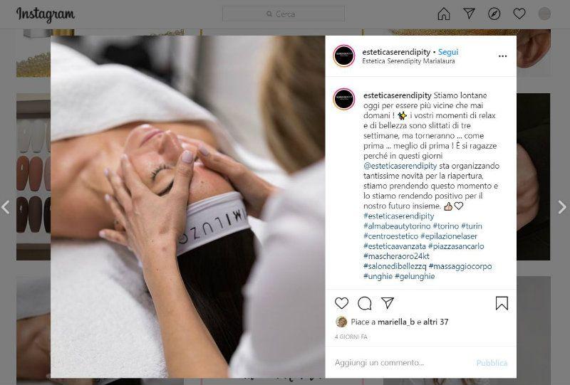 Vetrina su Instagram