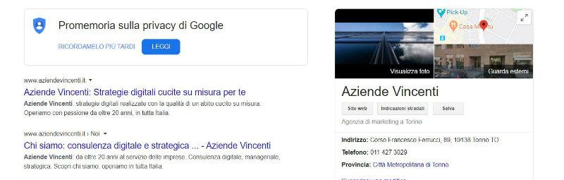 Google My Business: di cosa si tratta