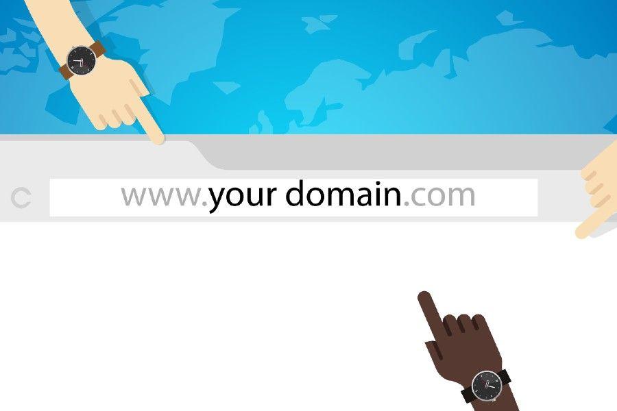 Dominio del sito internet, e-mail e recapiti aziendali coordinati